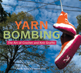 Cover of Yarnbombing, the Book